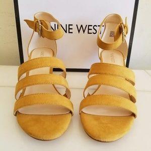 NEW Nine West Women's shoes Yelow, size 9.5